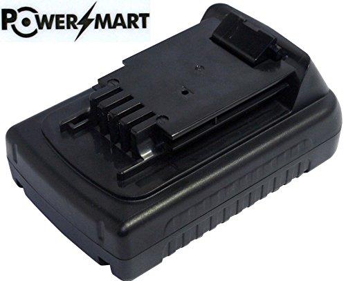 PowerSmart 20V 1500MAh 5 Cell LB20 LBX20 LBXR20 Battery for Black Decker LGC120 Cordless Garden Cultivator Black Decker LHT2220 Cordless Hedge Trimmer Black Decker LLP120 Cordless Alligator Lopper