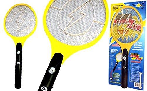 BugKwikZap TM Bug Zapper Electric Fly Swatter  Model - Standard  Standard Quality  2300 Volts  2 AA Batteries  Light  1PK