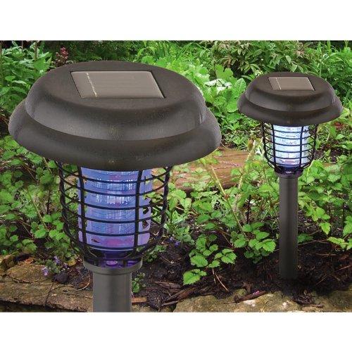 2 Solar Bug Zapper Lights Priced Less