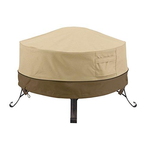 Classic Accessories 55-488-011501-00 Veranda Round Fire PitTable Cover 30-Inch
