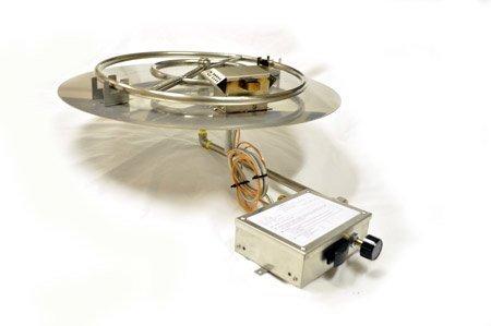 FPPK18 18in Flat Pan Manual SparkFlame Sensing Firepit Insert
