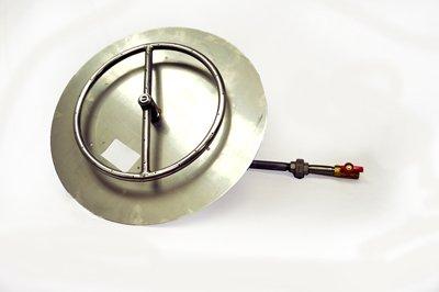 MLFPK18 18in Flat Pan Match Lit Firepit Insert