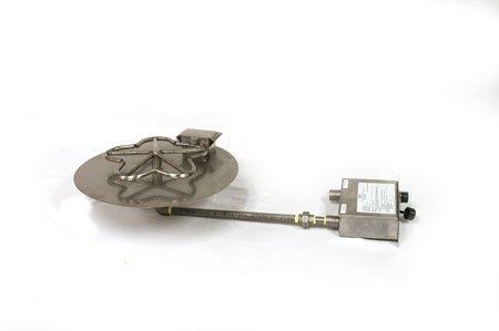 PENTA18FPPK 18in Flat Pan with Penta Burner Manual SparkFlame Sensing Firepit Insert