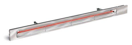 Infratech Sl3024sv Slim Line - Single Element 3000 Watt Patio Heater Choose Finish Stainless Steel Faceplate