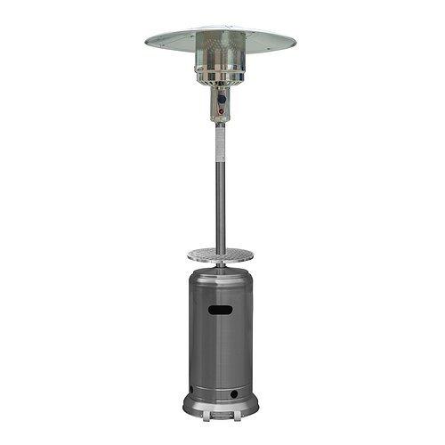 Gardensun HSS-A-DSS 41000 BTU Outdoor Stainless Steel Tall Patio Heater with Door