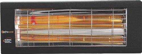 Infrasave Iep-1520 Indoor Garageworkshop Electric Infrared Radiant Heater 1500w120v