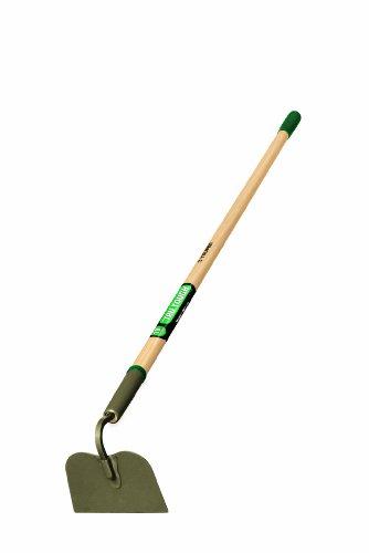 Truper 30006 Tru Tough 54-Inch Welded Garden Hoe 6-Inch Head Wood Handle with Rubber-Grip