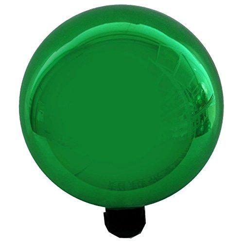 Gardeners Select Glass Gazing Globe Metallic Green 10&quot