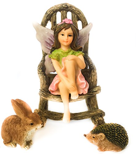 Miniature Fairy Garden Fairy Willow Set A Lovely Addition To Your Fairy Collection