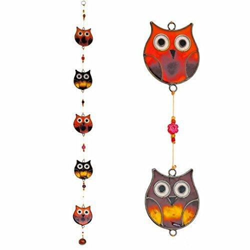 String of Owls Hanging Suncatcher