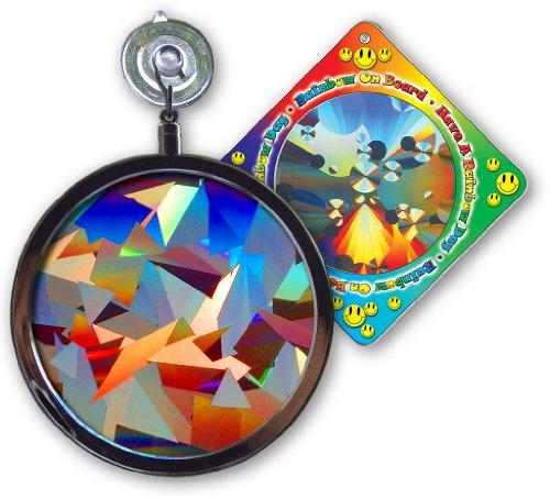 Suncatcher - Crystal Rainbow Window Sun Catcher - Includes A Bonusquotrainbow On Board&quot Sun Catcher
