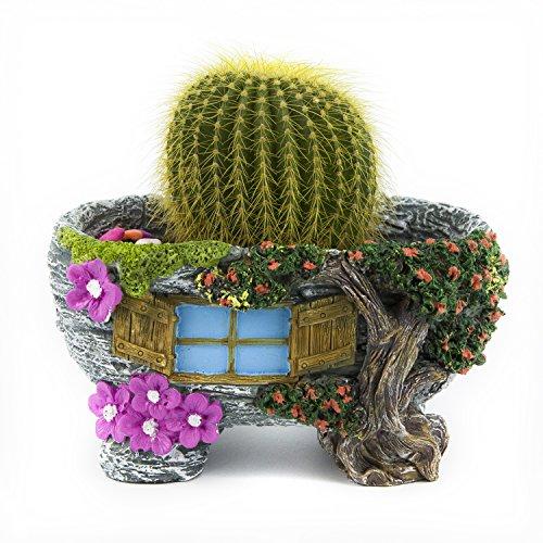 LoveBoutique Unique Design Cute Animal Artificial Flowers Succulent Plants Pot Flower Pot Planter Flower&Tree