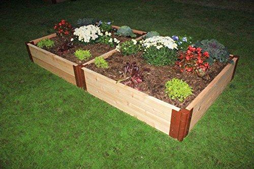 top 17 best cedar raised garden bed kits