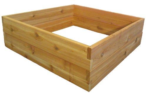 Raised Bed Garden Kit 3x3x11&quot By Infinite Cedar
