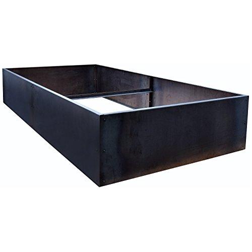 Nice Planter Corten Steel Planter Bed  96 x 48 x 16 High