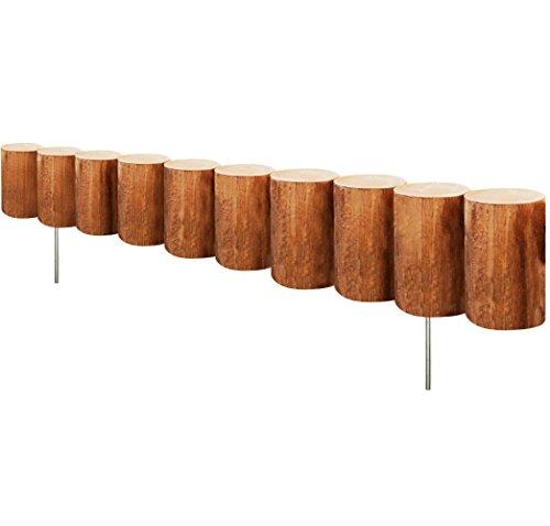Greenes Fence Wood Log Edging 5 X 30&quot