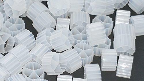 2 Cubic Foot K2 Filter Media Moving Bed Biofilm Reactor MBBR for Aquaponics • Aquaculture • Hydroponics • Ponds • Aquariums by Wholesale Koi Farm 2 Cubic Feet