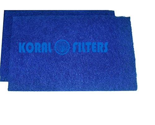 Koi Pond Filter Rigid Media Pads 2 pack  16 x 20