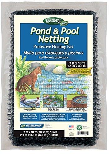 Gardeneer By Dalen Pondamp Pool Netting Protective Floating Net 7 X 10