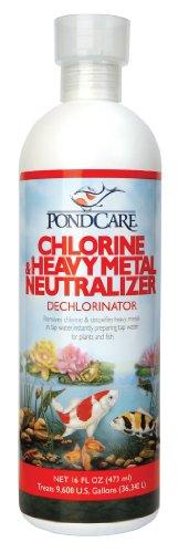 Api Pondcare Chlorine And Heavy Metal Neutralizer 16-ounce