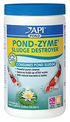 Api Pondcare Pond-zyme Enzymatic Pond Cleaner Barley 1-pound
