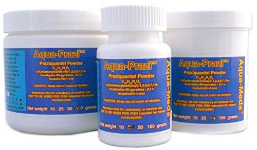 Aqua Prazi Koi Care Pond Treatment Fluke Parasite 25 Grams