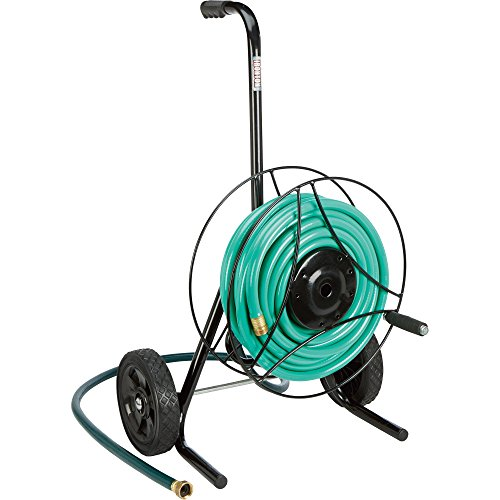 Ironton Garden Hose Reel Cart - Holds 100FtL x 58in Dia Hose