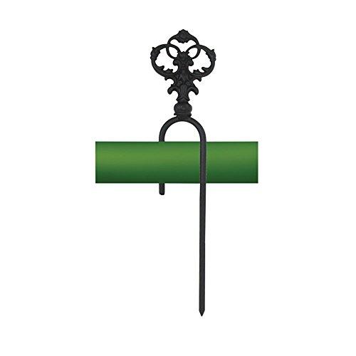 Iron Decorative Hose Guide - Heavy Duty Metal Hose Hook Garden Hose Storage Hose Fittings