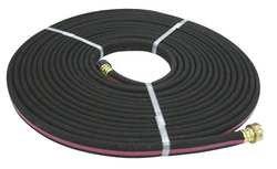 Westward 4TMP9 Black Sprinkler Hose 12 In x 50 Ft