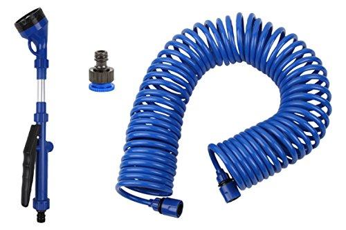 Coil Water Hosegarden Sprayeramp Quick Hose Connector Bonus - Lightweightcollapsible38 Inch X 50 Feet Best
