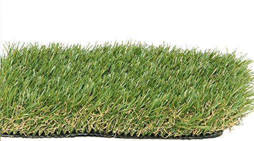 Pet Zen Garden 40 Inches X 28 Inches Premium Synthetic Grass Rubber Backed With Drainage Holes Fesque Color