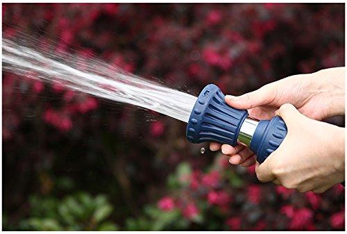 A3006 Garden Hose Heavy Duty Leak Free Brass Core Fireman Nozzle Fire Hose Nozzle With Garden Hose Washer 10pc