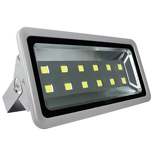 Morsen Outdoor Flood Light 600W 6000K Ultra Bright Floodlights Parking Lot Security Commercial Lamp Fixture 85-265V