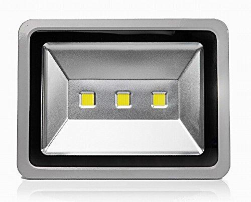 Oyep TM 150w LED Outdoor Flood Lights Security Light Waterproof IP65 Projector Lamp Landscape Spotlights lights Ad Billboard 13500lm 350w Halogen Bulb Equivalent 150W Cool White