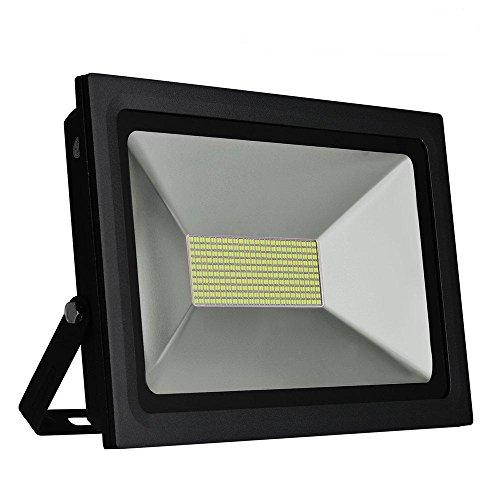 Solla 100W LED Flood Light Outdoor Security Lights 8600 LM Daylight White 5500-6500K480LEDs Super Bright Floodlight Waterproof Spotlight Outdoor Landscape Wall Lights
