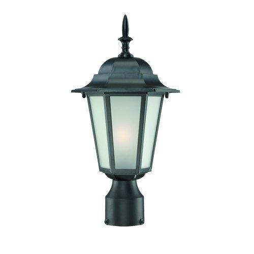 Acclaim 6117bkfr Camelot Collection 1-light Post Mount Outdoor Light Fixture Matte Black