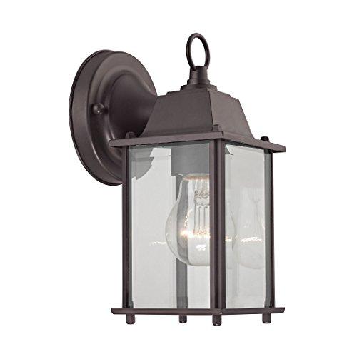 Elk Lighting 9231ew75 1-light Outdoor Wall Sconce Oil Rubbed Bronze