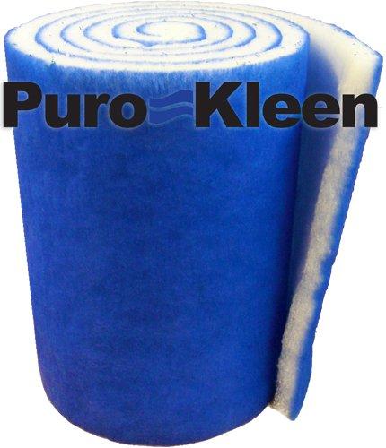 Puro-Kleen Kleen-Guard Pond Aquarium Filter Media 16 x 72 Pack of 2 12 Feet Total