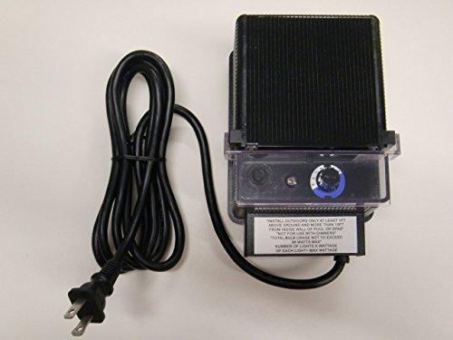88W 12V AC Landscape Lighting Low Voltage Transformer w Photo Eye and Timer - Malibu  TDC  DA-88-12W-1