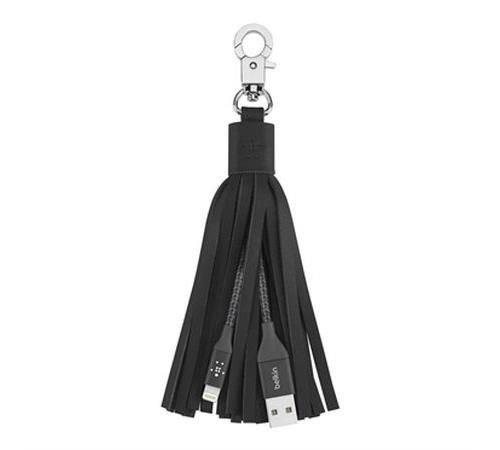 Monogram Inc Micro-USB Keychain With Lighting Cables 1 Black