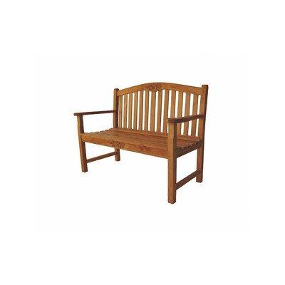 Anderson Teak Patio Lawn Garden Furniture 50 Round Rose Bench