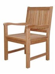 Anderson Teak Patio Lawn Garden Furniture Chester Dining Armchair