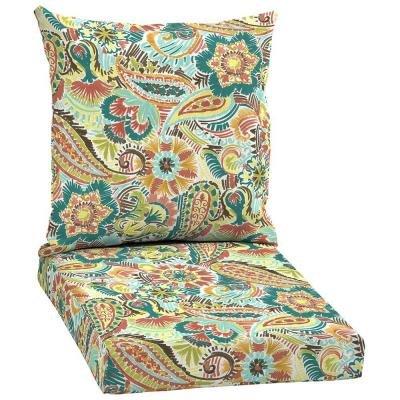 Hampton Bay Jovie 2-piece Outdoor Chair Cushion