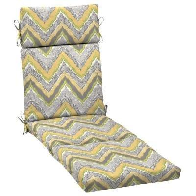 Hampton Bay Seville Outdoor Chaise Cushion