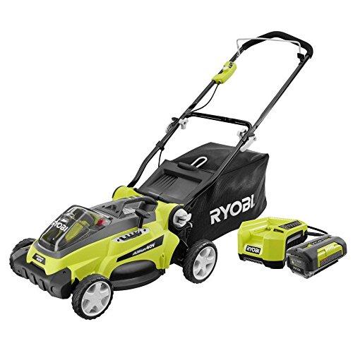 Ryobi ZRRY40110 40V 16-in Cordless Lawn Mower Kit Certified Refurbished