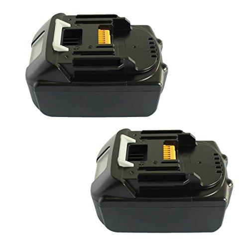 OHYES for Makita 18V Battery Lithium 3000mAh High Capacity Cordless Makita Power Tools 2packs