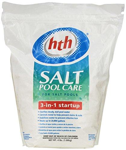 HTH 66527 Salt System 3 in 1 Start Up Pool Care 4 lb