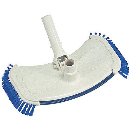 Splash Pools 20320 Wide Vacuum With Side Brushamp Cast Iron Weight