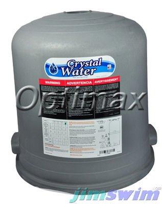 Waterway Plastics 550-4440 60 sq ft Lid With DE Crystal Water Filter Labels