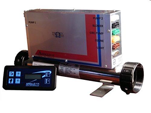 Apollo 11 Digital Spa Controller spa Pack  Spa Control Syrtem 2 Pumps Blower Circ Pump Ozone Fiber Optic